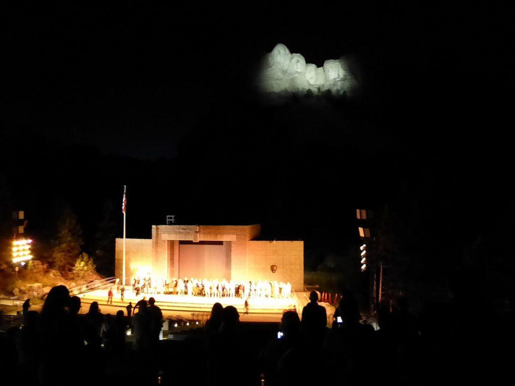 Rapid City Mount Rushmore - Patriotic Fervour