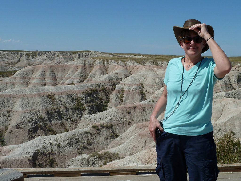 Badlands - Boiling Heat in Badlands National Park