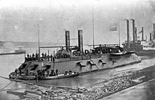 The American Civil War - Deep South USA - The Cairo ironclad