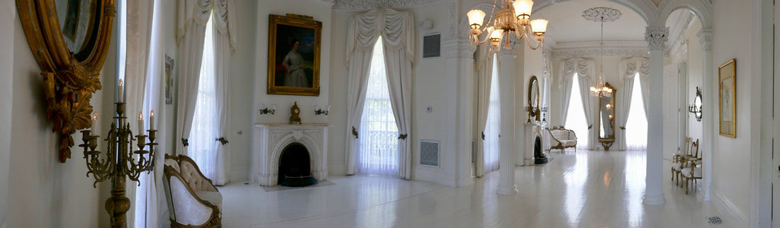Nottoway Plantation - The magnificent White Ballroom