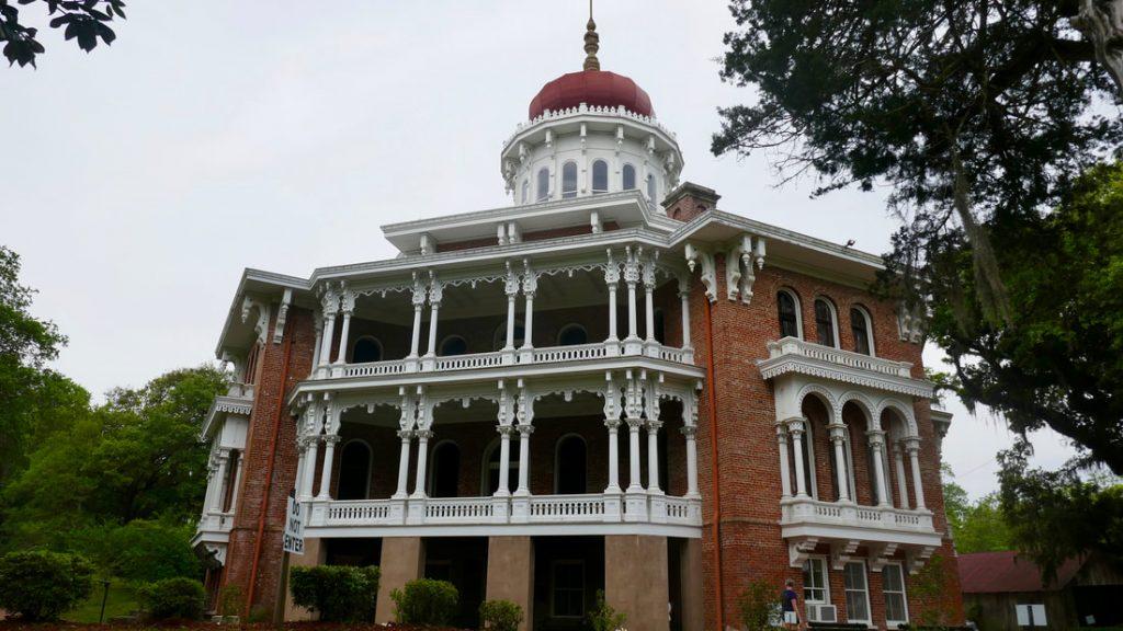 Romance Tragedy Trauma Grace and Truth - Deep South USA - Longwood Antebelllum Mansion