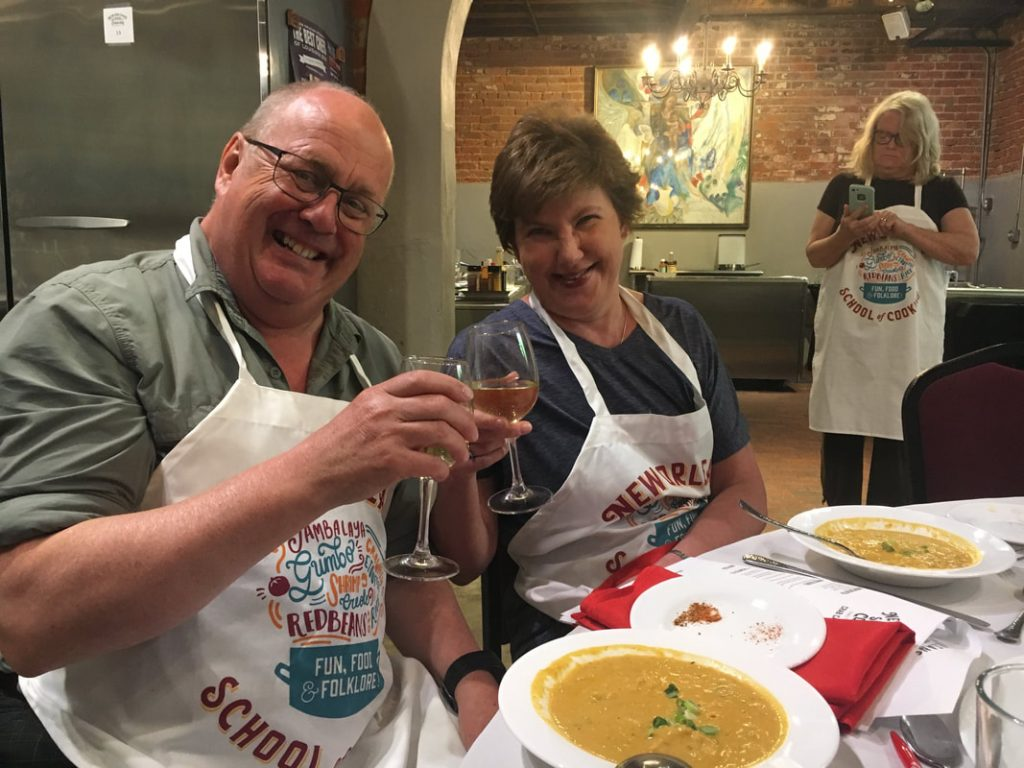 From Rooter to Tooter - Deep South USA New Orleans Cooking School