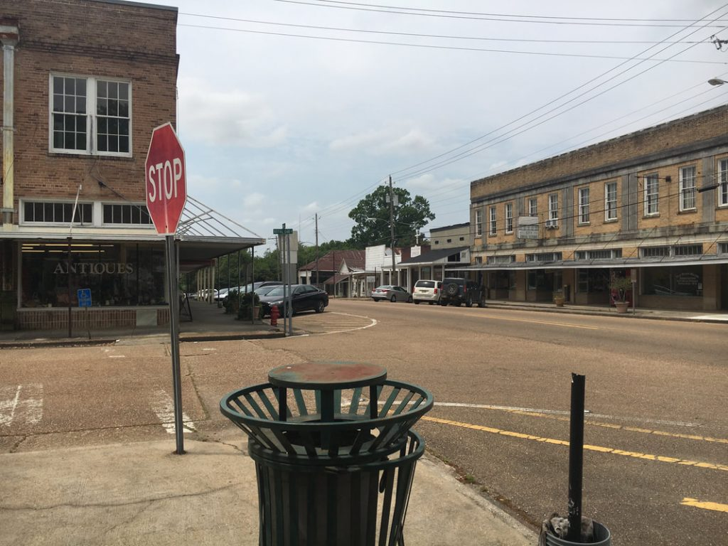 Just Visiting Deep South USA Downtown Woodville