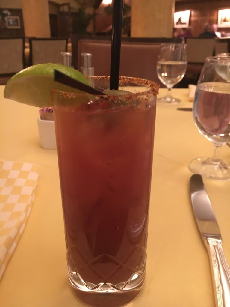 Deep South USA Cocktail Trail Bloody Mary, The Capitole Grille, The Hermitage Hotel, Nashville