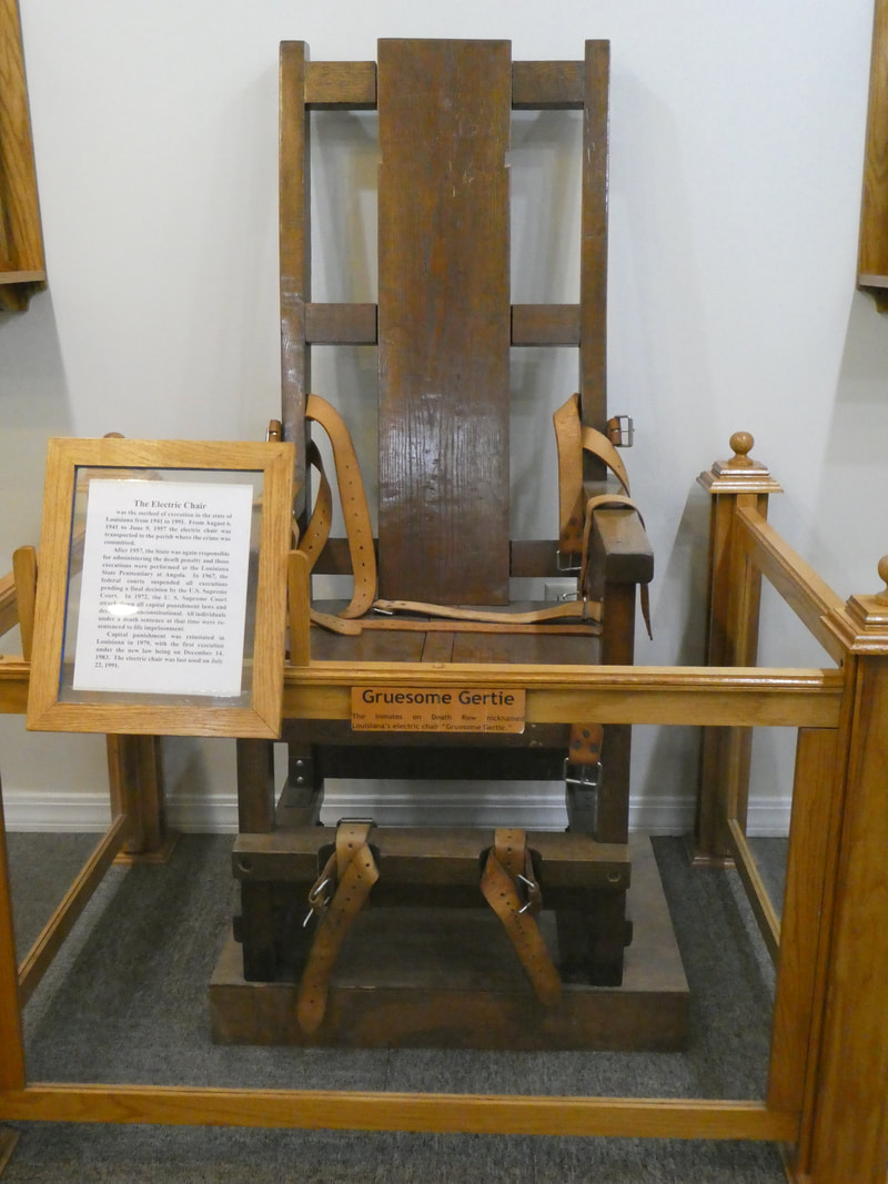 Louisiana State Penitentiary Gruesome Gertie Electric Chair