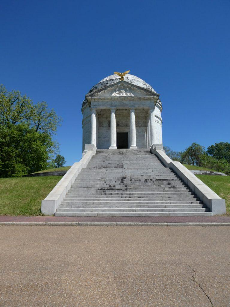 The American Civil War - Deep South USA - Vicksburg American Civil War Memorial