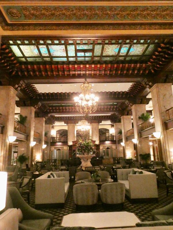 The Peabody Hotel Memphis Lobby