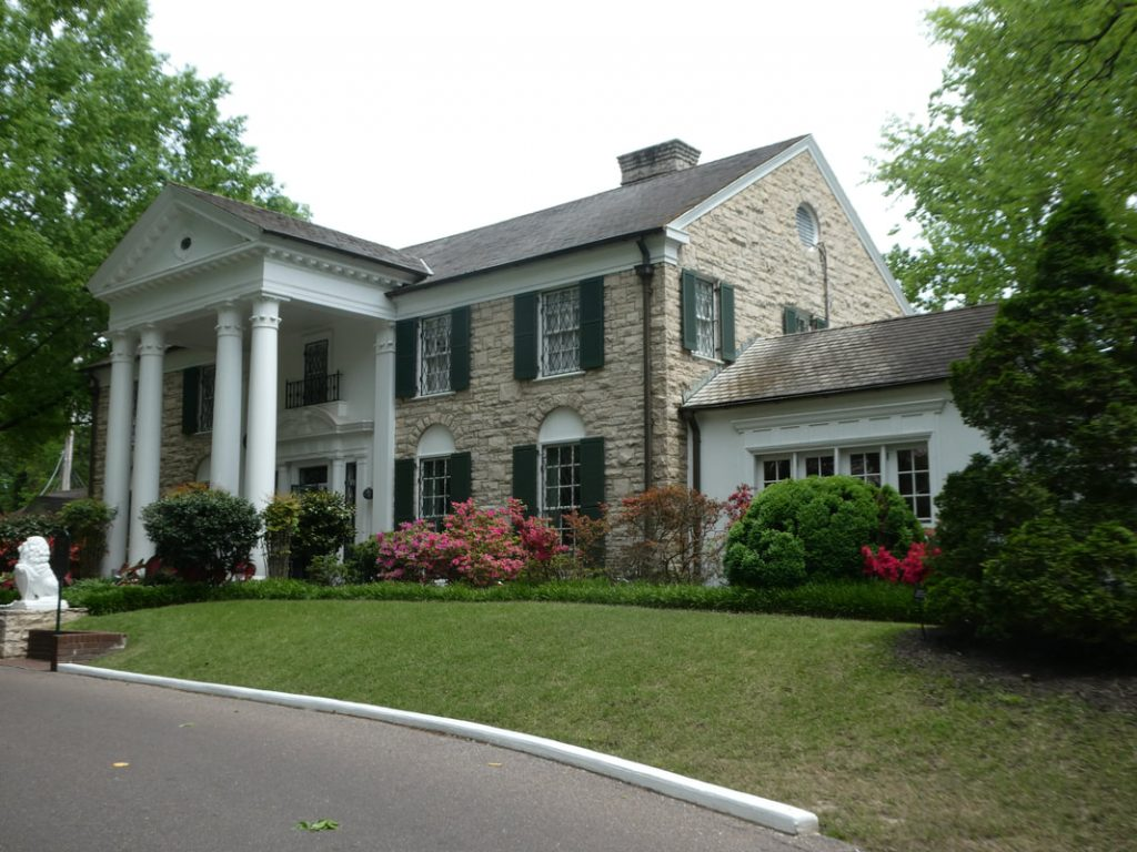 12 things you might not know about Elvis Presley - Deep South USA Graceland - House Number Three & Final
