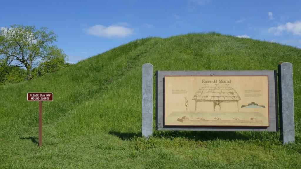 A One Way Ticket Natchez Trace Pathway Deep South USA Emerald Mound