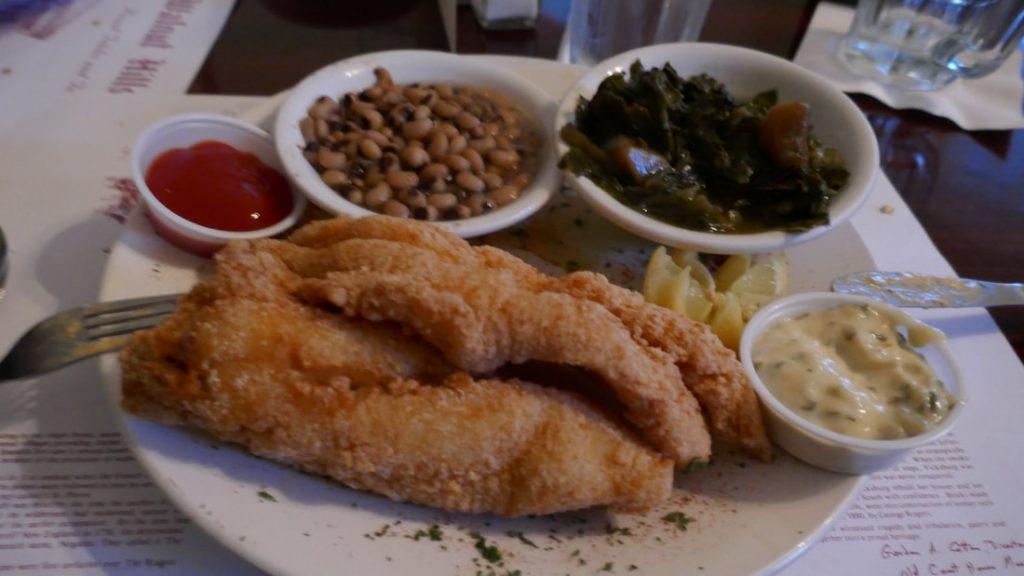 Jambalaya Crawfish Pie and Fillet Gumbo Deep South USA local catfish