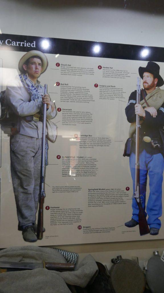 The American Civil War - Deep South USA - The American Civil War uniforms
