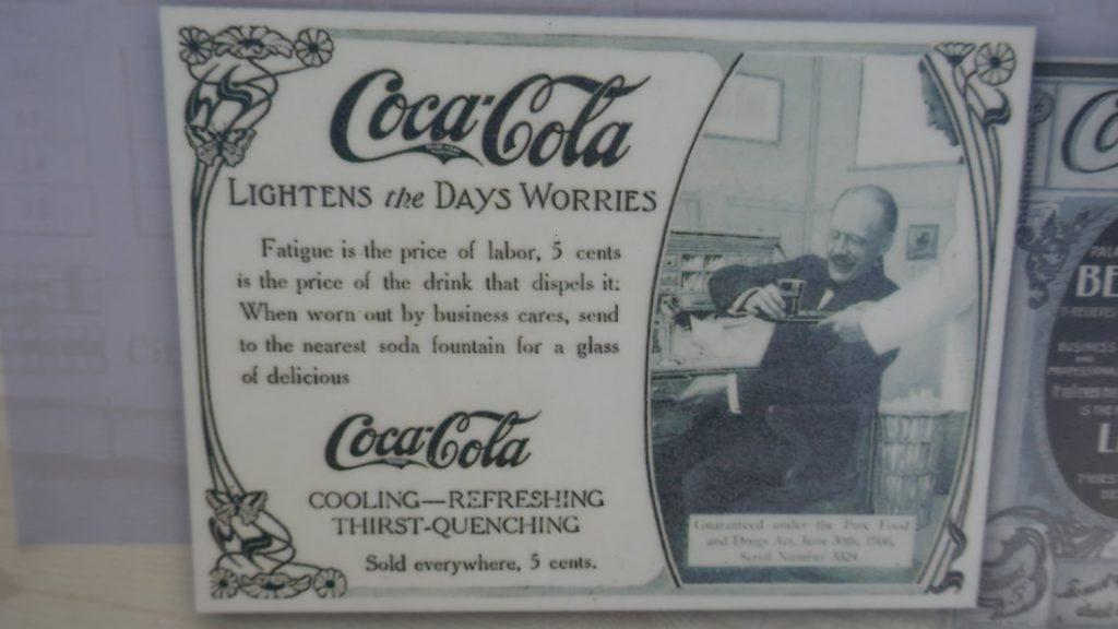 A One Way Ticket Natchez Deep South USA Vicksburg Coca Cola