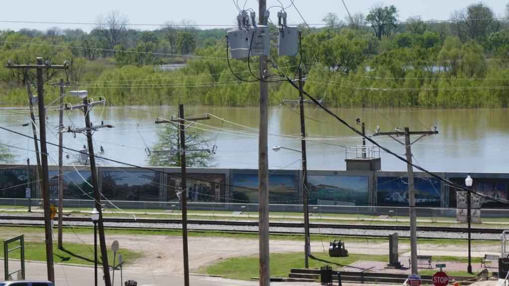 Vicksburg Deep South USA Waterfront Murals
