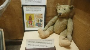 Find out where the first Teddy Bear came from