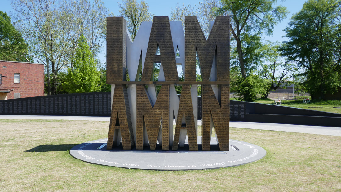 I am a Man Memorial National Museum of Civil Rights Memphis