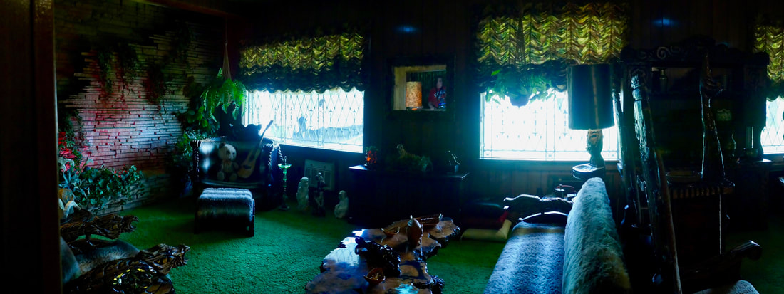 Graceland Memphis - The famous jungle room