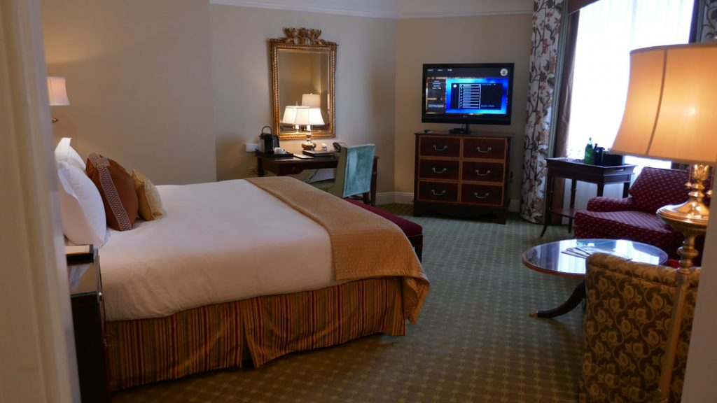 Hermitage Hotel Nashville Bedroom