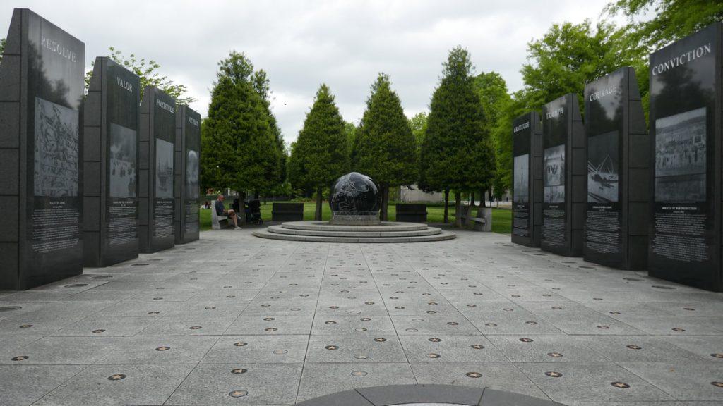Deep South USA Final Reflections Nashville World War II Memorial