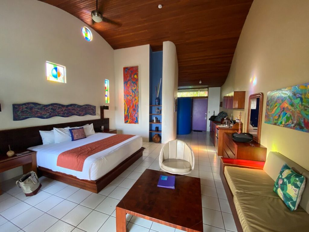 Accommodation Review Xandari Resort & Spa Alajuela Bedroom