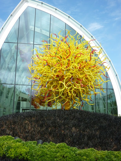 Seattle Space Needle - Chihuly Style