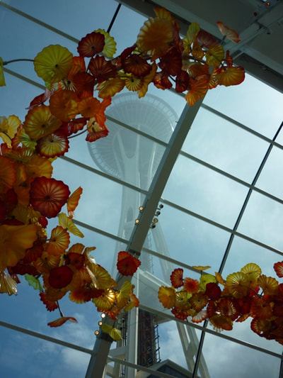 Seattle Alaska Chihuly Garden and Glass