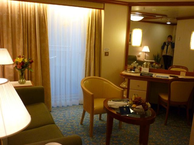 Sapphire Princess Cabin Lounge