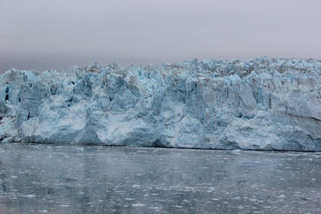 Hubbard Glacier Alaska Close Up