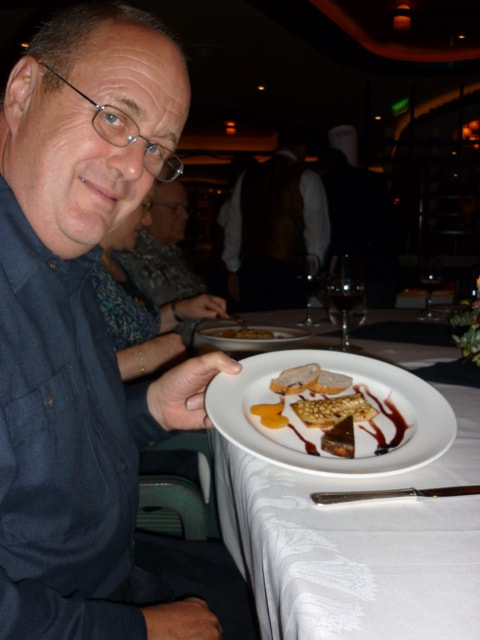 Chef's Table on the Sapphire Princess Baked Camembert