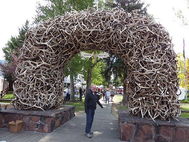 Elk Antler Arch Jackson