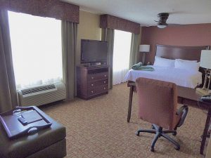 Accommodation Review:  Homewood Suites Hilton Rock Springs