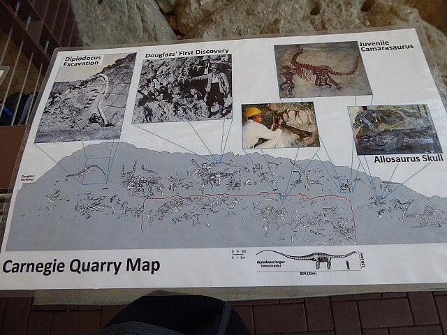 Dinosaur National Monument Dinosaur Wall