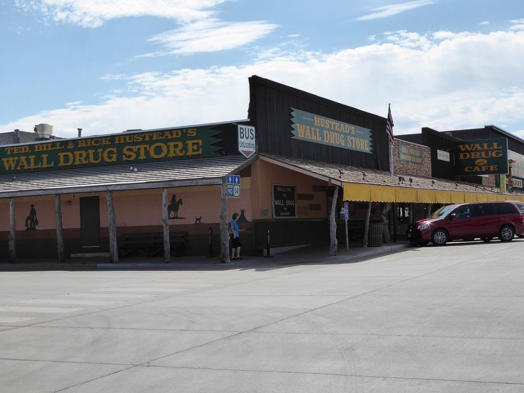 Badlands Wall Drug Store