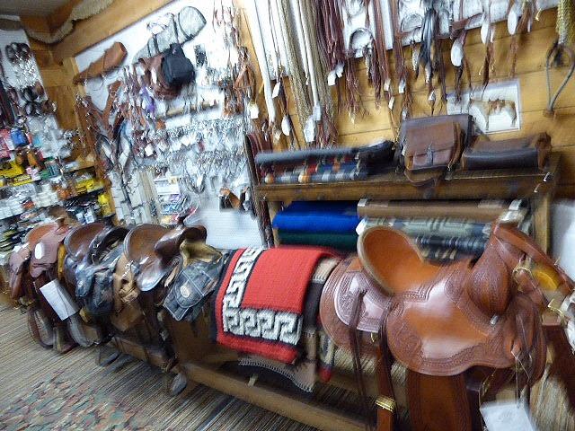 Mammoth Hot Springs Gardiner Saddle Shop Saddles