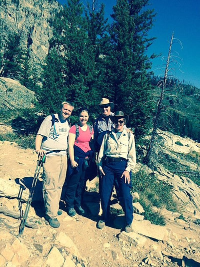 Cascade Canyon - Our Hiking Buddies