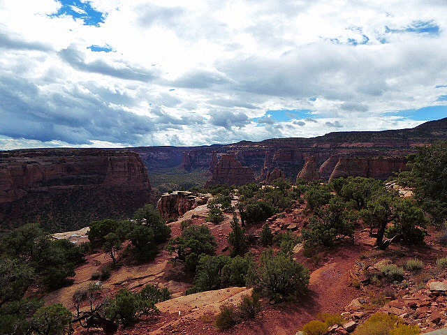 Colorado National Monument Plateau