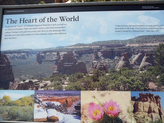 Colorado National Monument Balanced Rock