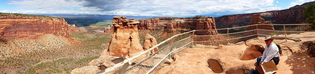 Colorado National Monument Perfect picnic spot in the Heart of the World
