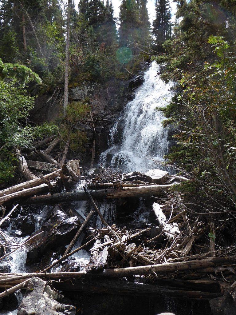 Cub Lake Fern Falls RMNP Fern Falls