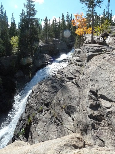 Bear Lake Alberta Falls Yellowstone NP