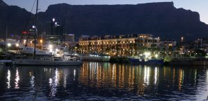 Arrival in Cape Town – V & A Waterfront – A Sparkly Welcome