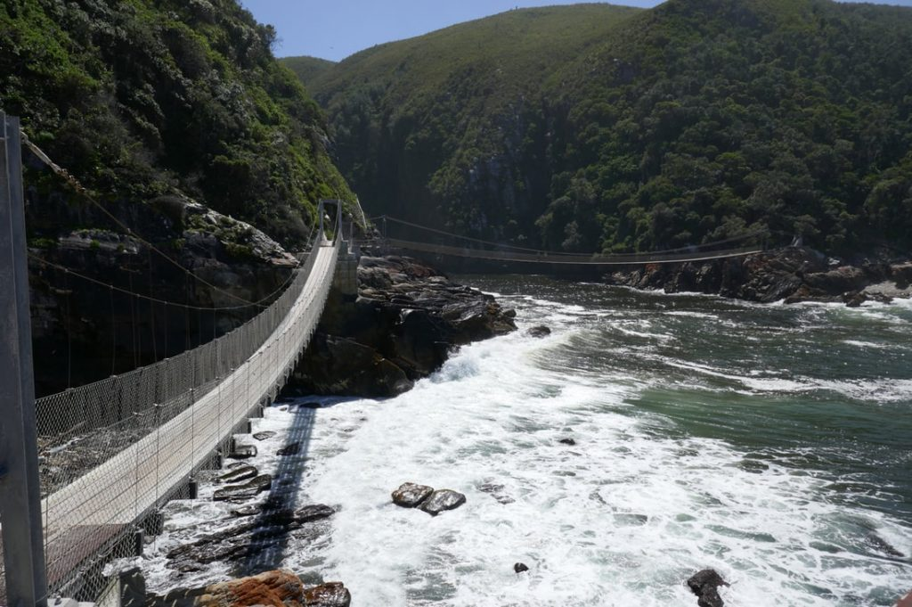 Tsitsikamma Storms River Suspension Bridge
