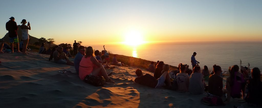 Peninsular Tour to the Penguins Cape Town sunset