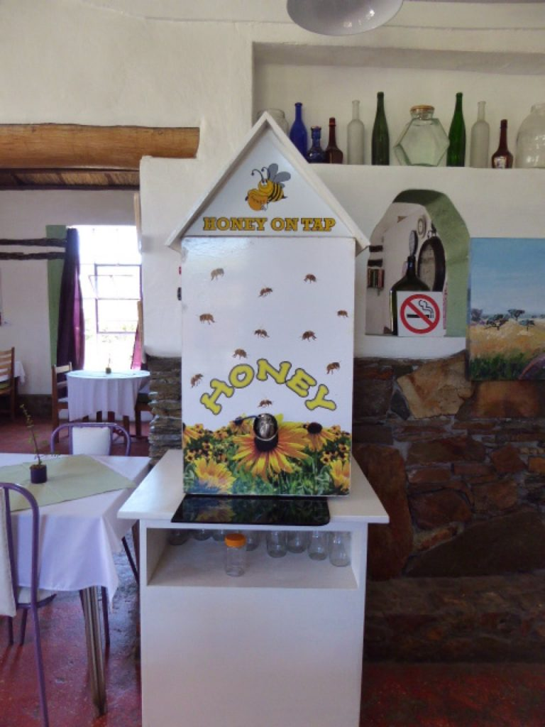 Avoid the Queue via Route 62 The Jam Tarts Cafe Route 62 Honey Dispenser