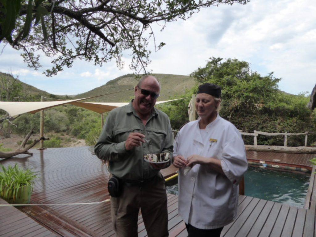 Lion's Roar - King of the Bush - Shamwari Happy birthday to Tim