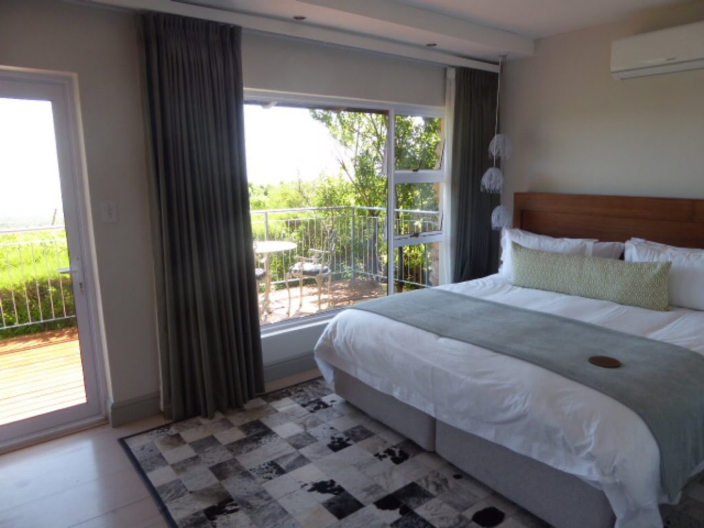 Grootboos Private Nature Reserve Accommodation Review - bedroom terrace