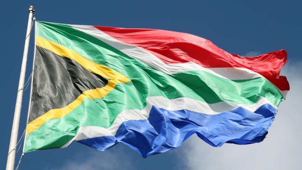 Goodbye South Africa South African Flag