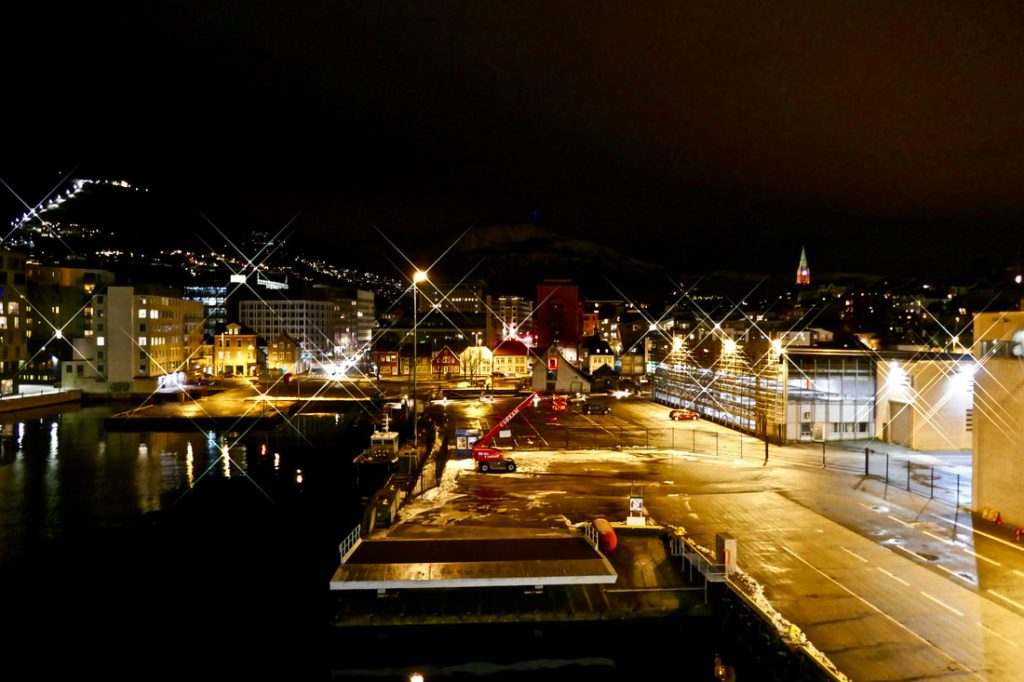 Pretty Bergen at night
