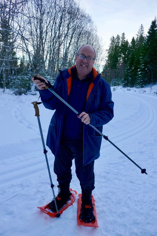 It's time for the Snowshoes!