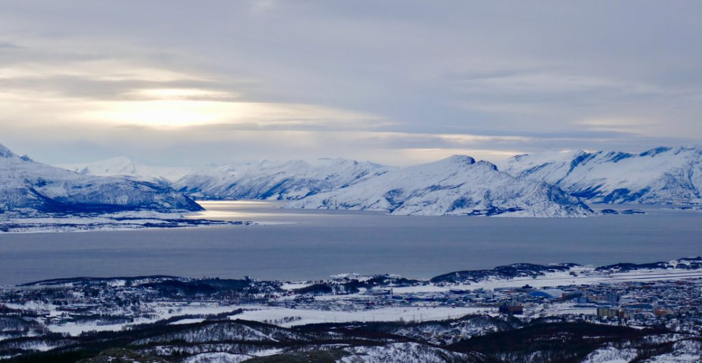 Crossing the Arctic Circle Bodø