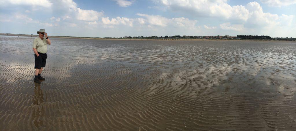 Norfolk Where the Sea Meets the Sky Hunstanton Beach